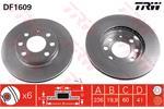 TRW Brake Discs DF1609
