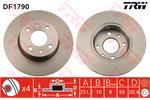 TRW Brake Discs DF1790