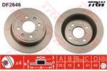 TRW Brake Discs DF2646