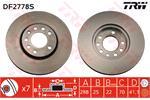 TRW Brake Discs DF2778S