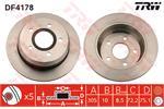 TRW Brake Discs DF4178