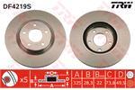 TRW Brake Discs DF4219S