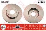 TRW Brake Discs DF4221