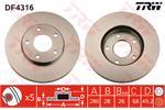 TRW Brake Discs DF4316