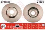 TRW Brake Discs DF4983S