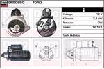 DELCO REMY Starter Motors DRS0950