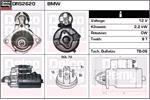 DELCO REMY Starter Motors DRS2620