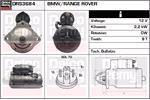 DELCO REMY Starter Motors DRS3684