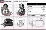 DELCO REMY Starter Motors DRS6290
