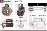 DELCO REMY Starter Motors DRS6800