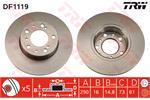 TRW Brake Discs DF1119