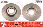 TRW Brake Discs DF1203