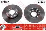 TRW Brake Discs DF1607