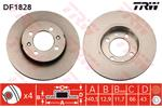 TRW Brake Discs DF1828