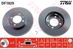 TRW Brake Discs DF1829