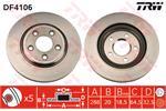 TRW Brake Discs DF4106