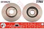 TRW Brake Discs DF4962S