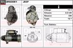 DELCO REMY Starter Motors DRS0081