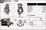 DELCO REMY Starter Motors DRS0178