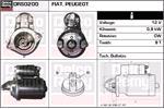 DELCO REMY Starter Motors DRS0200