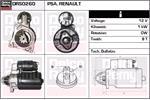 DELCO REMY Starter Motors DRS0260