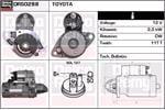 DELCO REMY Starter Motors DRS0288