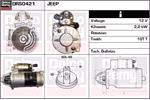 DELCO REMY Starter Motors DRS0421