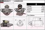 DELCO REMY Starter Motors DRS3677