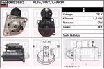 DELCO REMY Starter Motors DRS3683