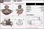 DELCO REMY Starter Motors DRS3804