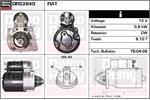 DELCO REMY Starter Motors DRS3940