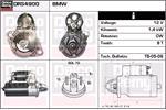 DELCO REMY Starter Motors DRS4900