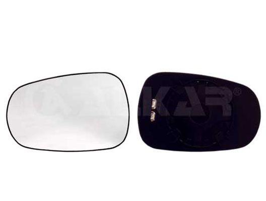 Pour Nissan Micra Mk3 2003-2010 Aile Miroir Verre N//S Côté Passager Gauche