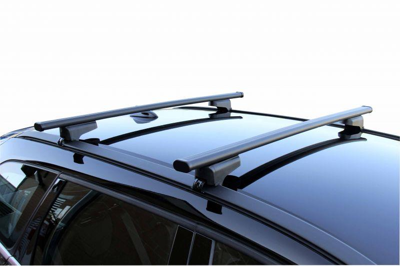 2015 Onwards with Solid Closed Rails Steel Lockable Roof Bars for BMW X1 F48