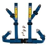 4 Point Racing Safety BeltHarness - Blue