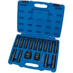 Draper Expert 16PC 3/4,1 Sq Dr Impact Socket & Bits Set