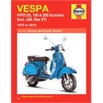 Motorcycle Manual - Vespa P/PX125, 150 & 200 Scooters (1978-2006)
