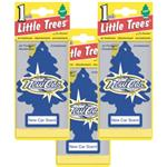 Little Trees New Car Air Freshener - 3 Pack