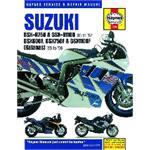 Suzuki GSX-R750, GSX-R1100 (85 - 92), GSX600F, GSX750F, GSX1100F (Katana) Fours (1988 - 1996)