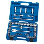 Draper Expert 41 Piece 1/2 inch Drive Metric and Imprerial Ratchet & Socket Set