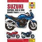 Suzuki GSF600, 650 & 1200 Bandit Fours (1995 - 2006) Haynes Manual