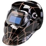 Draper Solar Power Varioshade Welding and Grinding Helmet - Spider Design