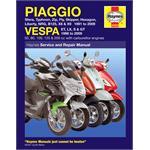 Motorcycle Manual - Piaggio (Vespa) Scooters (1991-2006)