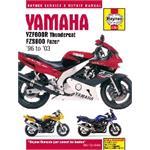 Yamaha YZF600R Thundercat & FZS600 Fazer (1996 - 2003) Haynes Manual
