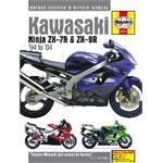 Motorcycle Manual - Kawasaki Ninja ZX-7R & ZX-9R (1994-2004)