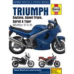 Triumph Fuel Injected Triples (1997 - 2005) Haynes Manual