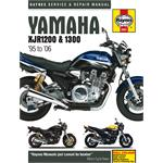 Yamaha XJR1200 and XJR1300 (1995 - 2006) Haynes Manual