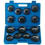 DraperExpert 14 Pce Oil Filter Removal Cup Socket Set