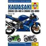 Kawasaki ZX-6R (03 - 06) Haynes Manual