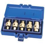 Draper 5 Piece Engine Oil Drain Plug Key Set